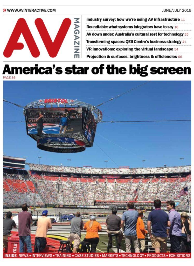 AV magazine title page June 2016